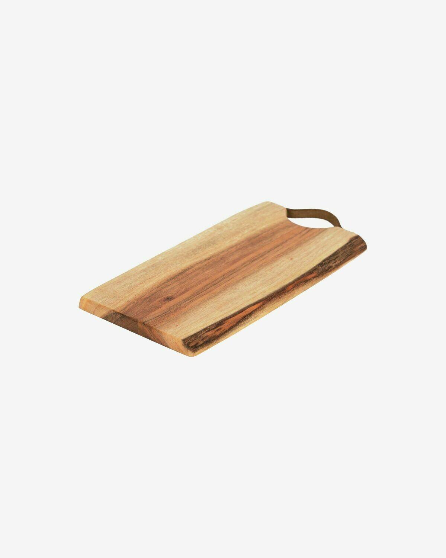 Tabla de servir rectangular Severa madera maciza acacia
