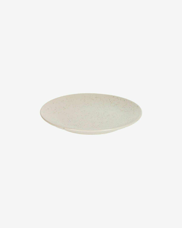 Plato de postre Aratani blanco