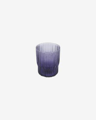 Vaso Rori de cristal lila