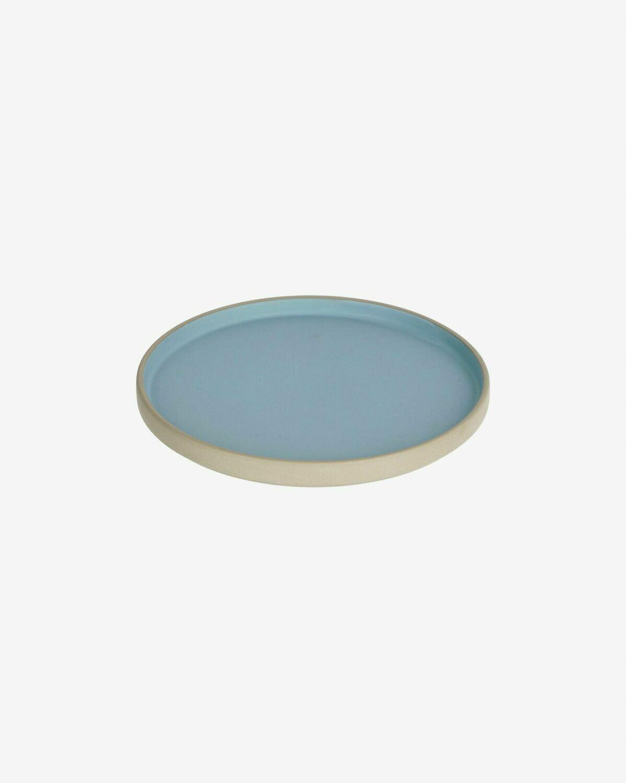 Plato de postre Midori cerámica azul