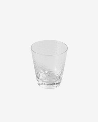 Vaso pequeño Dinna cristal transparente