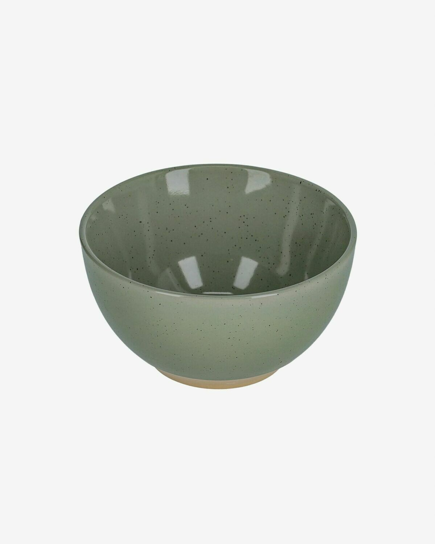 Bol Tilia cerámica color verde oscuro