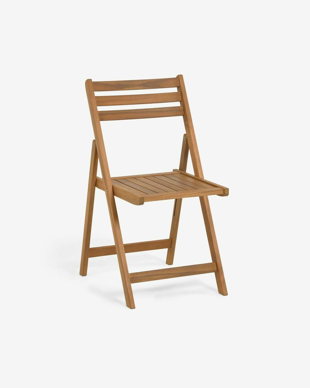 Silla plegable de exterior Daliana madera maciza acacia FSC 100%