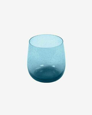 Vaso Hanie cristal azul