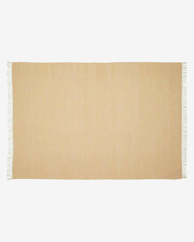 Alfombra exterior Elbia de PET mostaza 160 x 230 cm