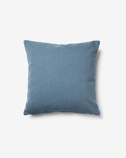 Funda cojín Kam 45 x 45 cm azul