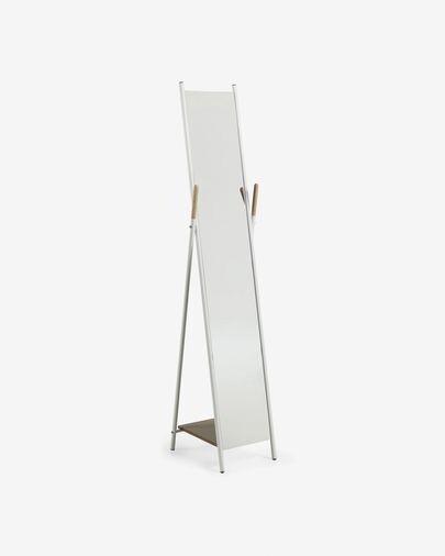 Espejo Cheryl de acero 33 x 159 cm