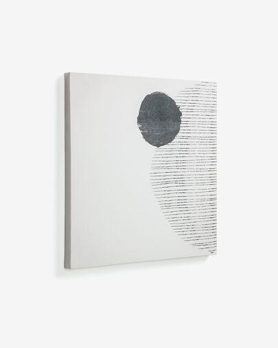 Lienzo grande Prism 50 x 50 cm fondo blanco