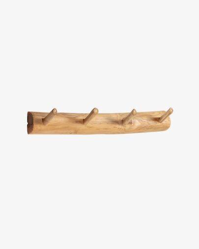 Perchero Gaillech de madera maciza de teca