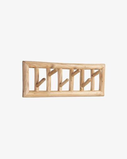 Perchero Athina de madera maciza de teca