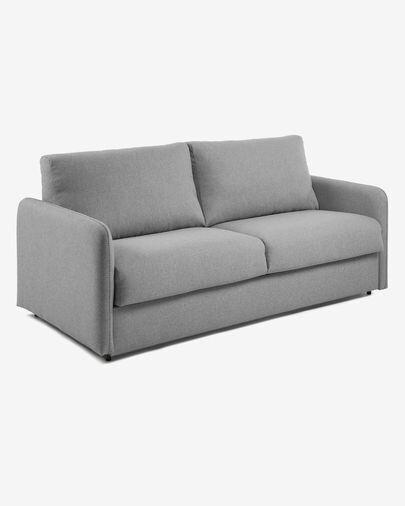 Sofá cama Kymoon 140 cm poliuretano gris claro