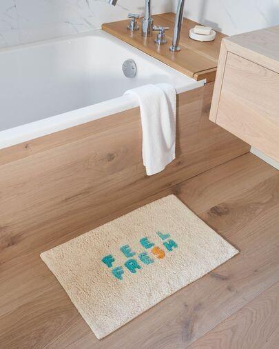 Alfombra de baño Nandi 40 x 60 cm feel fresh