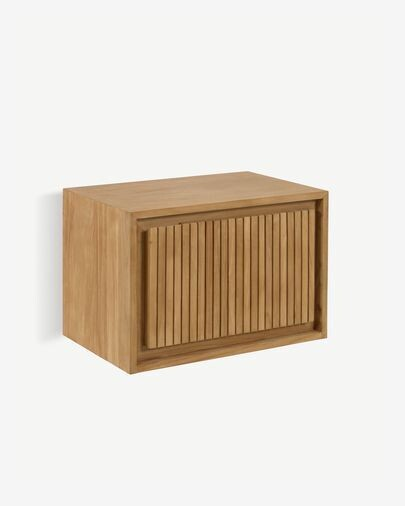 Mueble de baño Taciana de madera maciza de teca 60 x 40 m