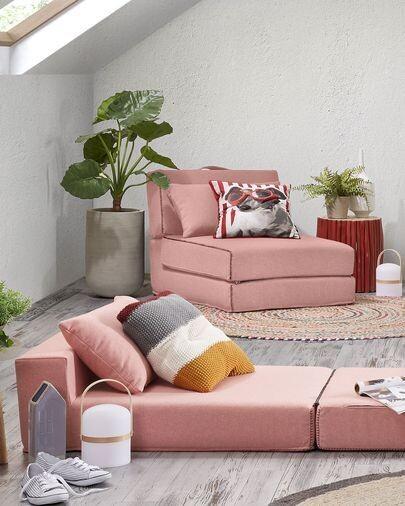 Puf cama Arty 70 x 89 (200) cm rosa