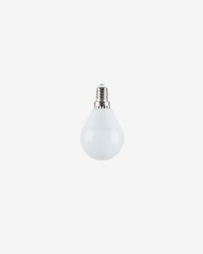 Bombilla LED Bulb E14 de 4W y 38 mm luz cálida