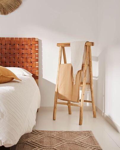 Toallero Marge de madera maciza de teca 50 x 100 cm