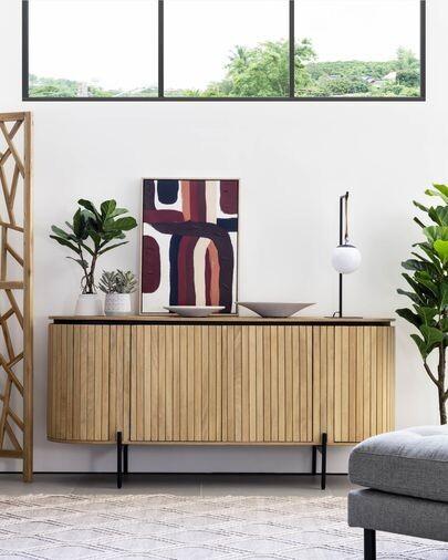 Aparador Licia 170 x 80 cm de madera maciza de mango