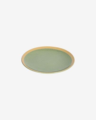 Plato de postre Tilia cerámica color verde claro