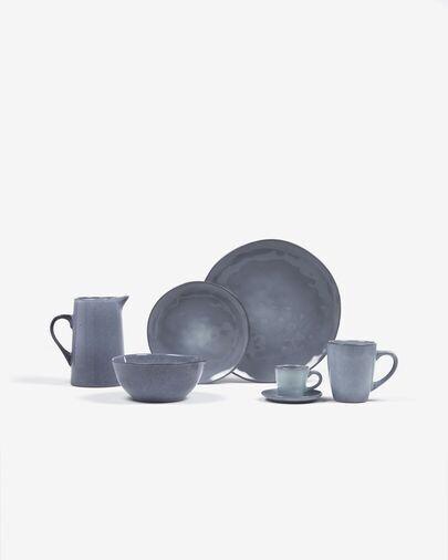 Bol Airena de cerámica azul