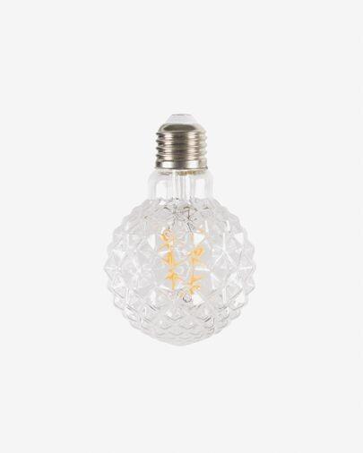 Bombilla LED Bulb E27 de 2W y 95 mm luz cálida