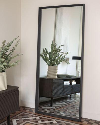 Espejo Nerina 80 x 180 cm con acabado oscuro