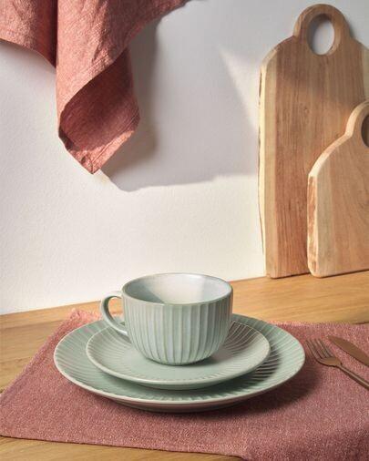 Taza Itziar de cerámica verde