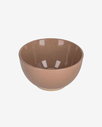Bol Tilia cerámica color marrón claro