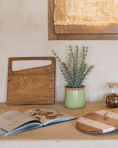 Tabla de servir Serilda madera maciza acacia