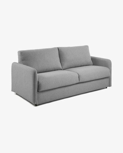 Sofá cama Kymoon visco gris claro 160 cm