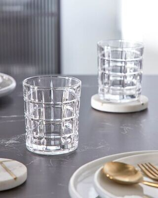 Vaso Hina de vidrio transparente