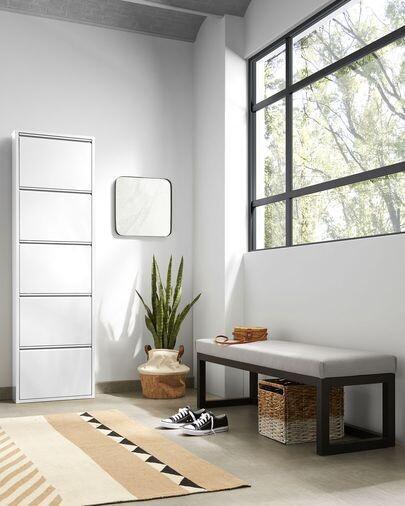 Zapatero Ode 50 x 168,5 cm 5 puertas blanco