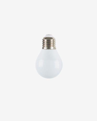 Bombilla LED Bulb E27 de 3W y 45 mm luz neutra