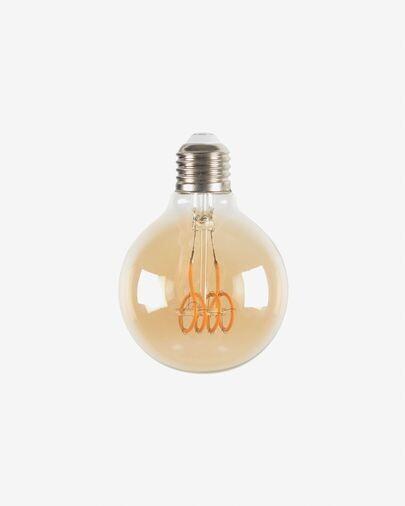 Bombilla LED Bulb E27 de 4W y 80 mm luz cálida
