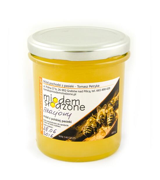 miód akacjowy 400 gram