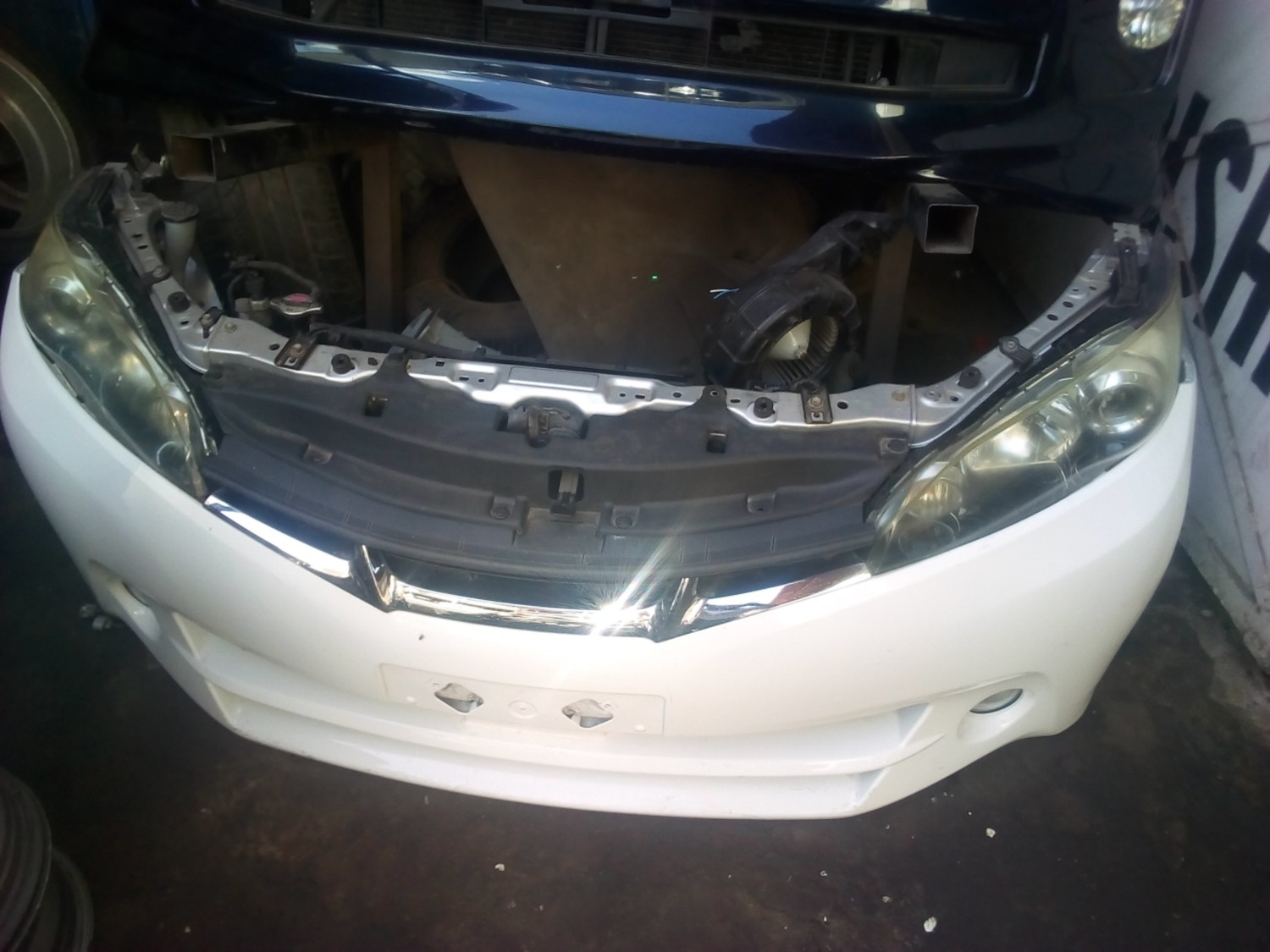 Toyota Wish Nose Cut
