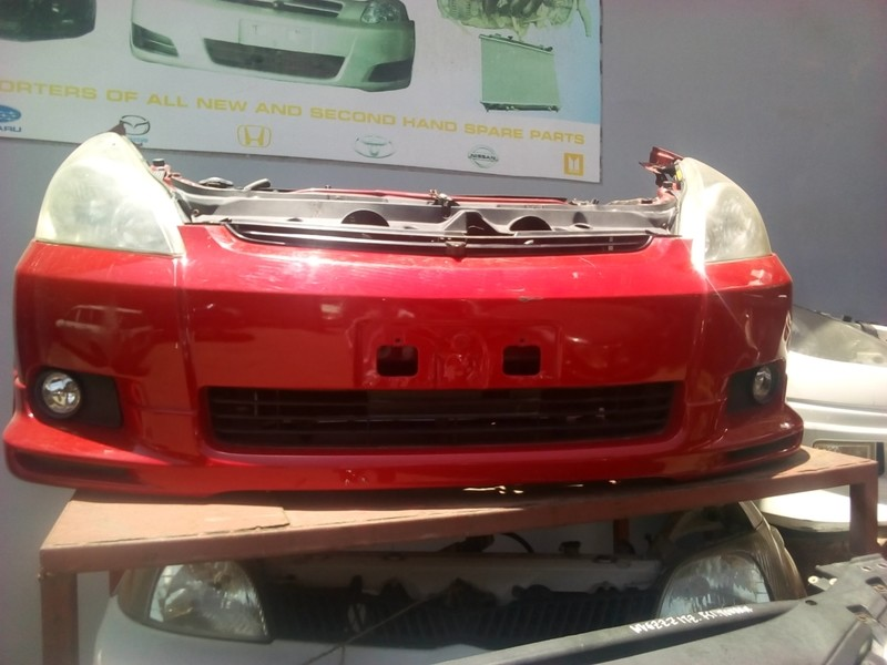 Toyota Wish Nose Cut