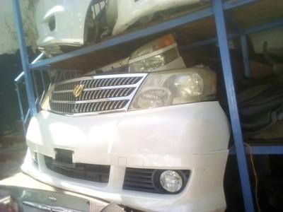 Toyota Alfred Nose Cut