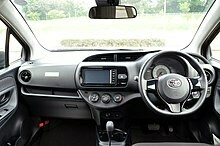 Toyota Vitz Dashboard with Airbags