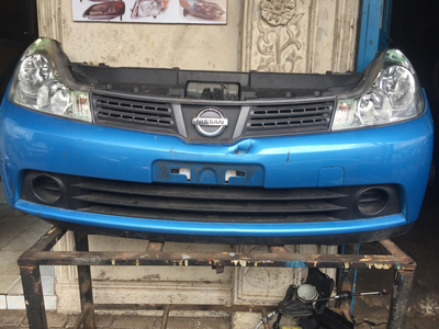 Nissan wingroad nose cut