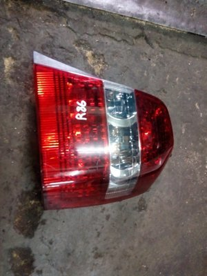 Toyota Kluger tail light