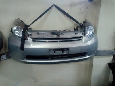 Toyota pasoo nose cut