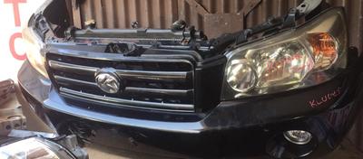 Toyota klugar nose cut
