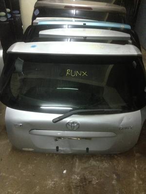 Toyota Runx boot