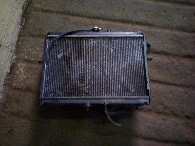 Nissan vannette radiator