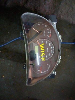 Toyota wish speedometer