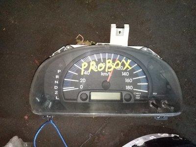 Toyota probox clock