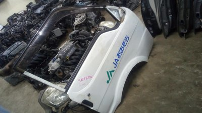Toyota vannette driver door