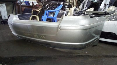 Toyota Avensis rear bumper