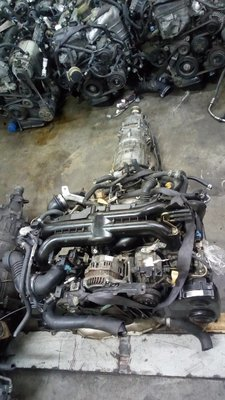 Ej 20 turbo engine