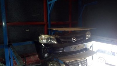 Mazda tribute nose cut